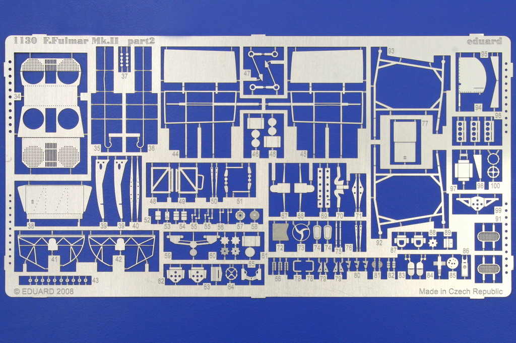 Fairey Fulmar Mark II (Eduard réf 1130 Limited Edition 1/48 ) 0718
