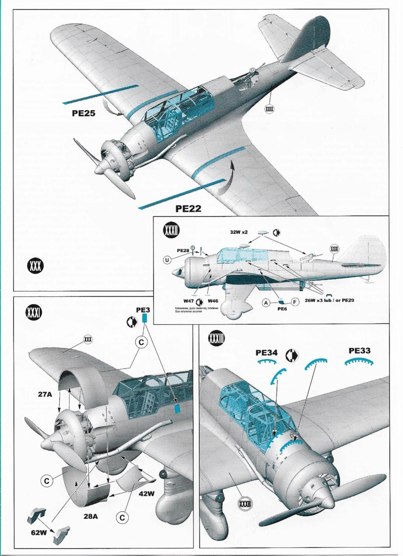 "Fil rouge 2020 , PZL P-23B Karas ""1939 Campaign"" (Mirage Hobby 1/48) 0725"