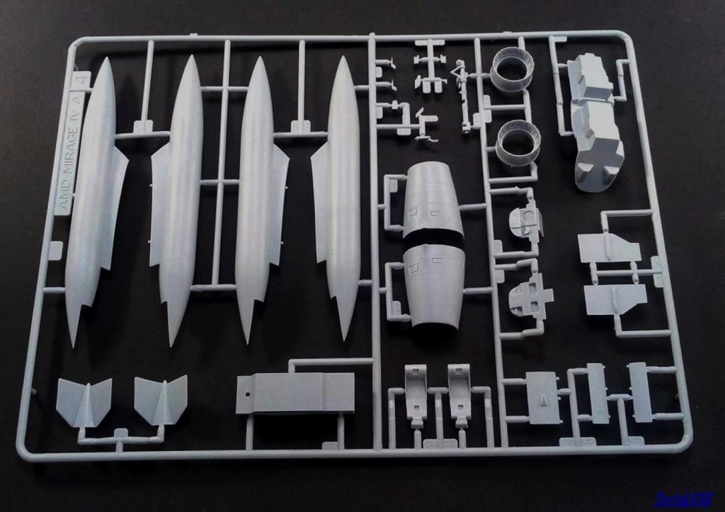 """Fil Rouge 2021 * Mirage IV A n°31/BD """"Opération Tobus """" (Heller 1/48)  0735"""