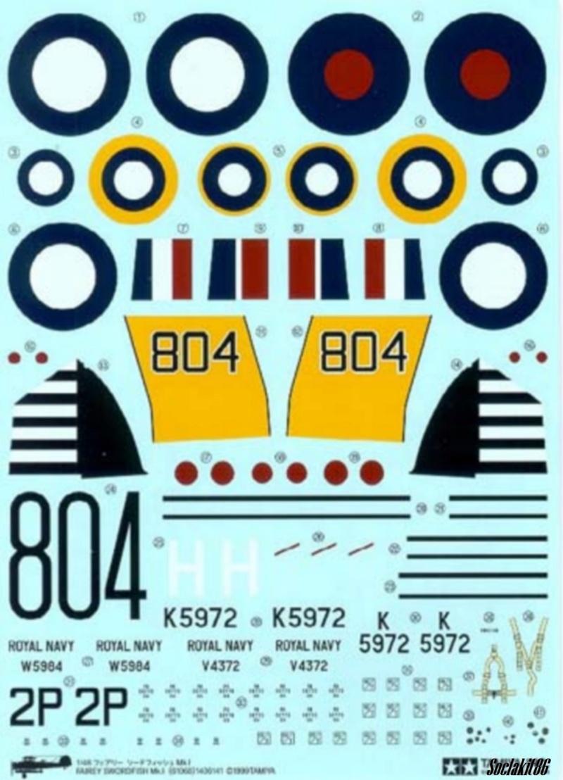Fairey Swordfish Mark I (Tamiya 1/48) 823 Naval Air Squadron 1937 0744