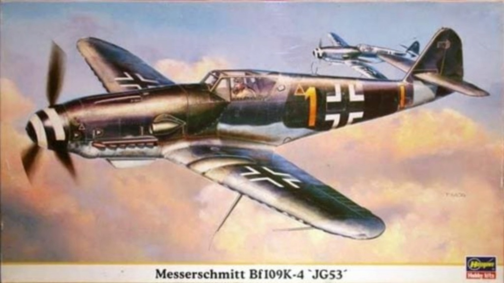 Bf 109 K-4 W.Nr. 332660 du 11/JG-53 (hasegawa 1/48)  09330_10