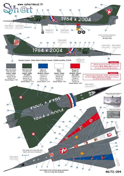 """Fil Rouge 2021 * Mirage IV A n°31/BD """"Opération Tobus """" (Heller 1/48)  - Page 2 094_pl10"""