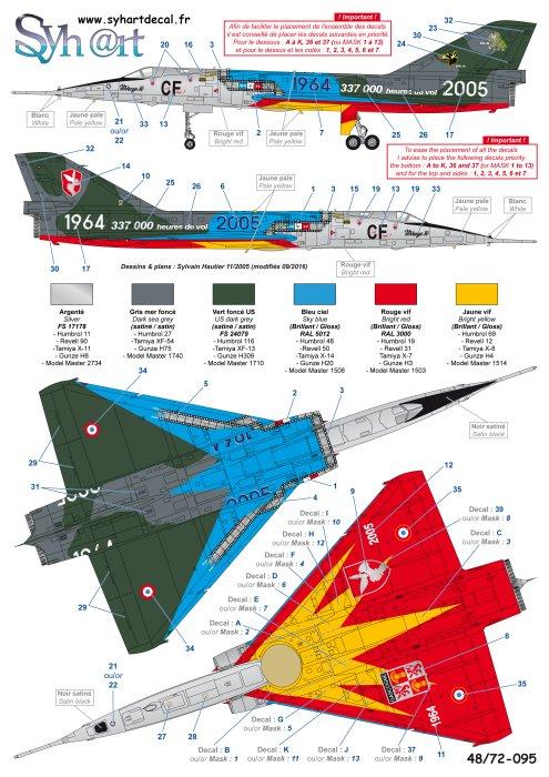 """Fil Rouge 2021 * Mirage IV A n°31/BD """"Opération Tobus """" (Heller 1/48)  - Page 2 095_pl10"""