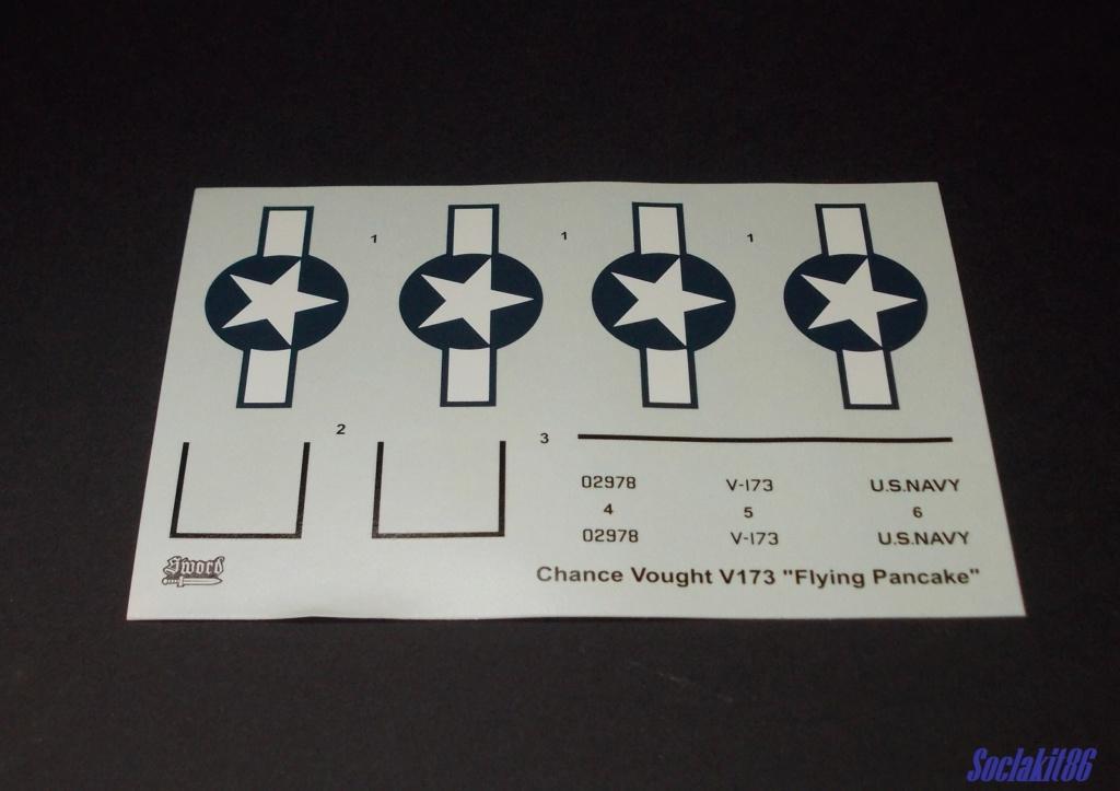 """V-173 """"Flying Pancake"""" (Sword 1/48) 1018"""