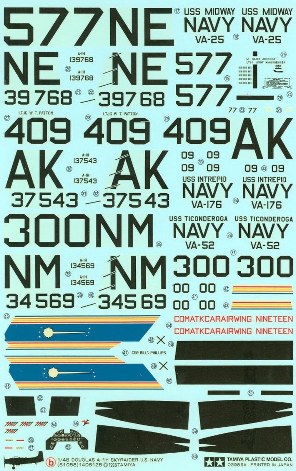 AD-4 Skyraider n°123895 /SFERMA 110 de l'EC 3/20  (Tamiya 1/48) 1025