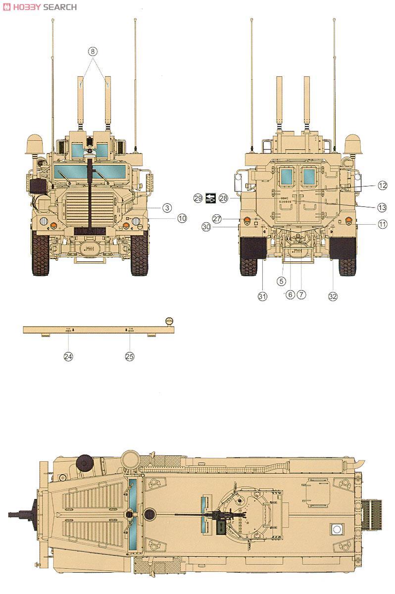U.S. Cougar 6x6 M.R.A.P ( Meng 1/35 réf SS.005 )  10304213