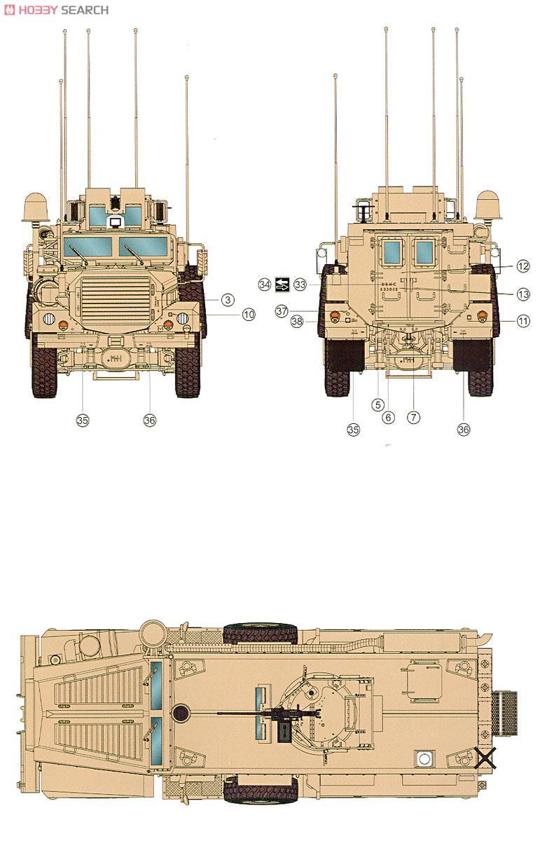 U.S. Cougar 6x6 M.R.A.P ( Meng 1/35 réf SS.005 )  10304215