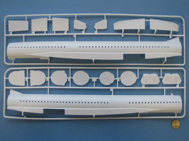 """[CONCOURS """"Ca brille""""] Concorde n°203 / F-BTSC - Heller -1/72 --> maquette détruite 10493-10"""