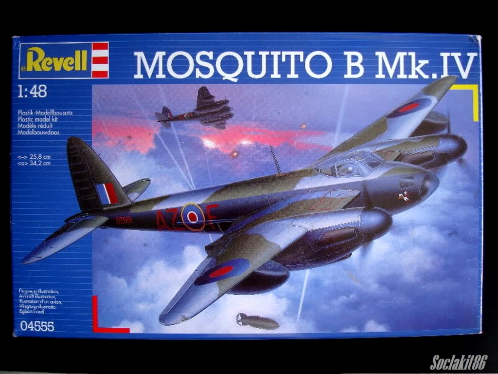 De Havilland  DH-98 Mosquito B mark IV (Revell 04555 au 1/48 ) 11144110