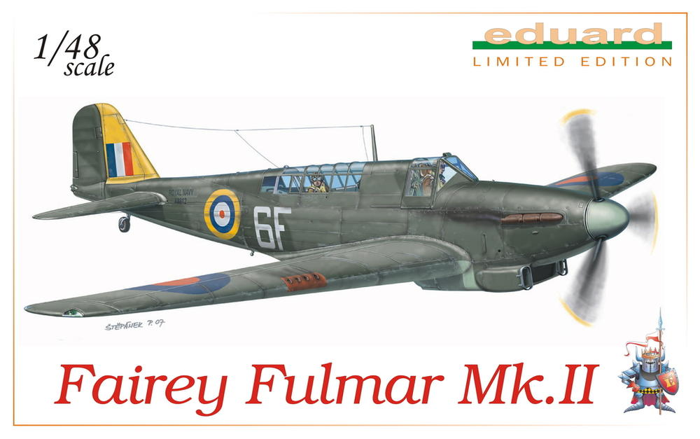 Fairey Fulmar Mark II (Eduard réf 1130 Limited Edition 1/48 ) 113010