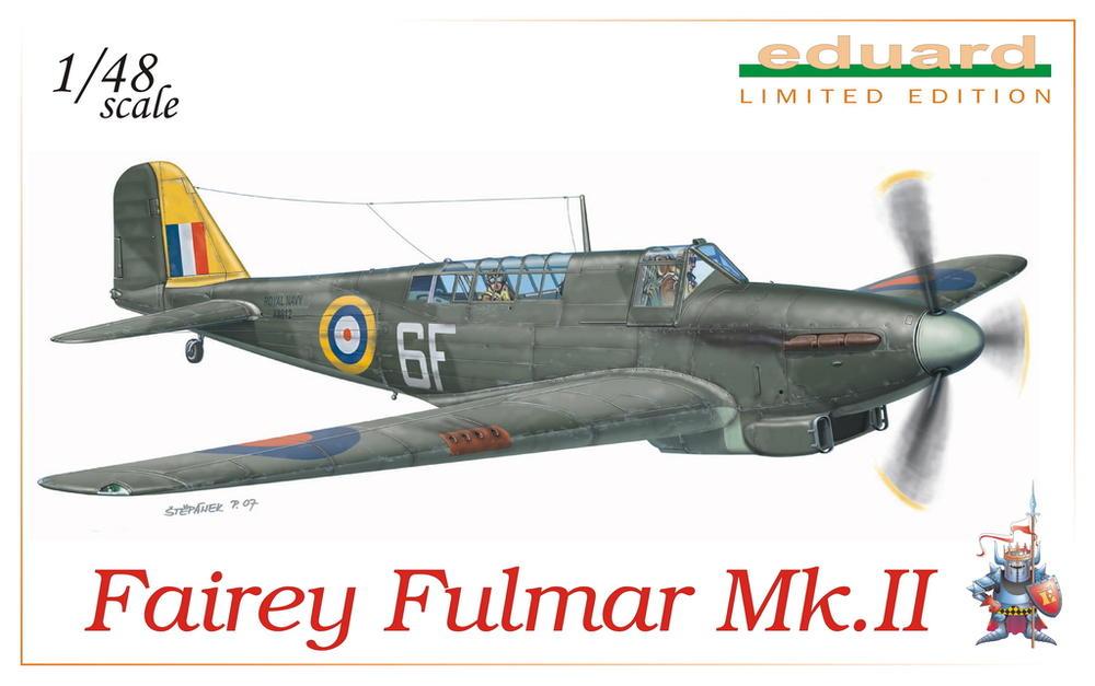 Fairey Fulmar Mark II (Eduard réf 1130 Limited Edition 1/48 ) 113010