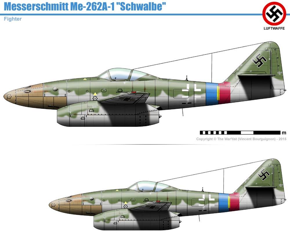 Messerscmitt Me 262A-1A 1/72 Revell page2 114