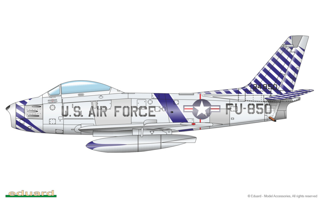 "North American F-86F-30 ""MiG Mad Marines"" (Eduard 1/48) 1163-b10"