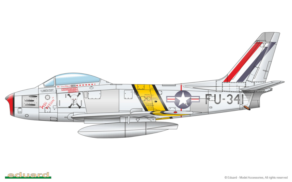 "North American F-86F-30 ""MiG Mad Marines"" (Eduard 1/48) 1163-c10"