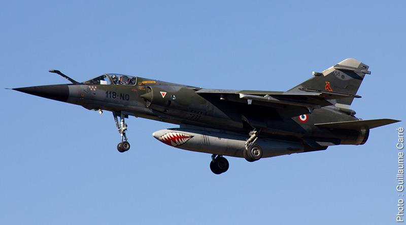 Mirage F-1 CR n°658 / 118-NQ (Kitty Hawk 1/48) opex Baltic Air Policing 2013 ... 118-nq10