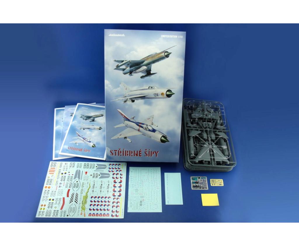 "MiG-21PF (Eduard  réf 1187 ""Silver Harrows "" 1/48)  1187_010"