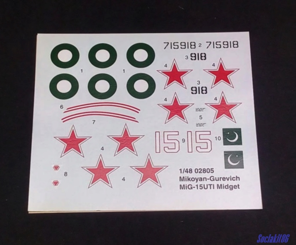 MiG-15 UTI (Trumpeter 1/48)  1219