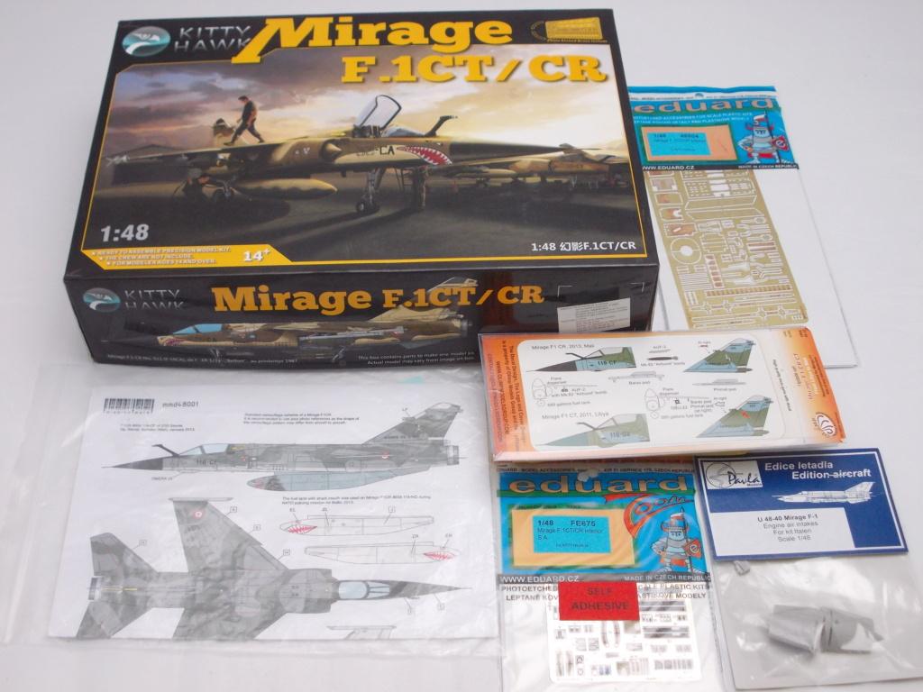 Mirage F-1 CR n°658 / 118-NQ (Kitty Hawk 1/48) opex Baltic Air Policing 2013 ... 1523