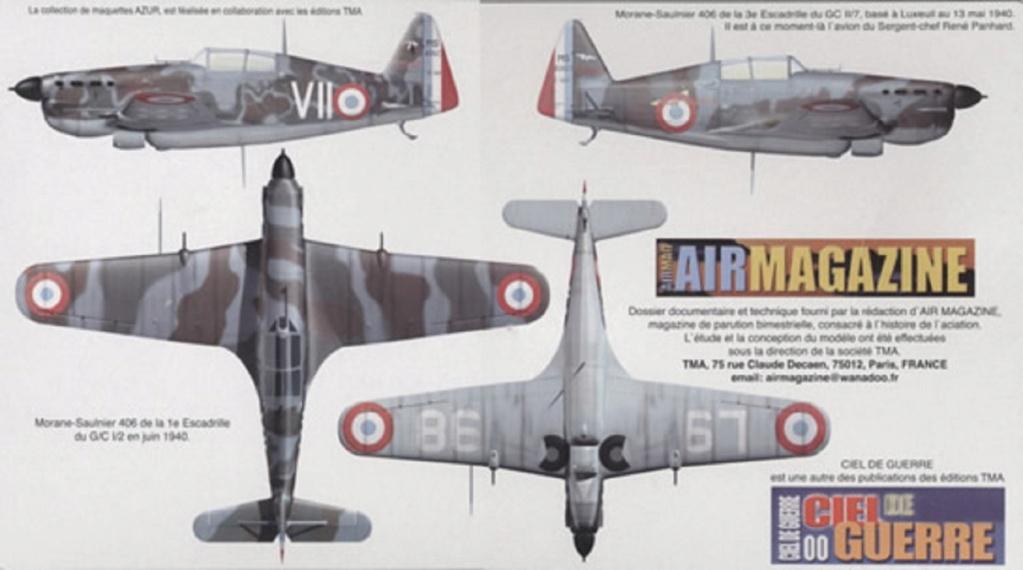 Morane Saulnier MS 406 (Azur /AB Toys 1/32) + décals Kagero Top Colors 17 1528