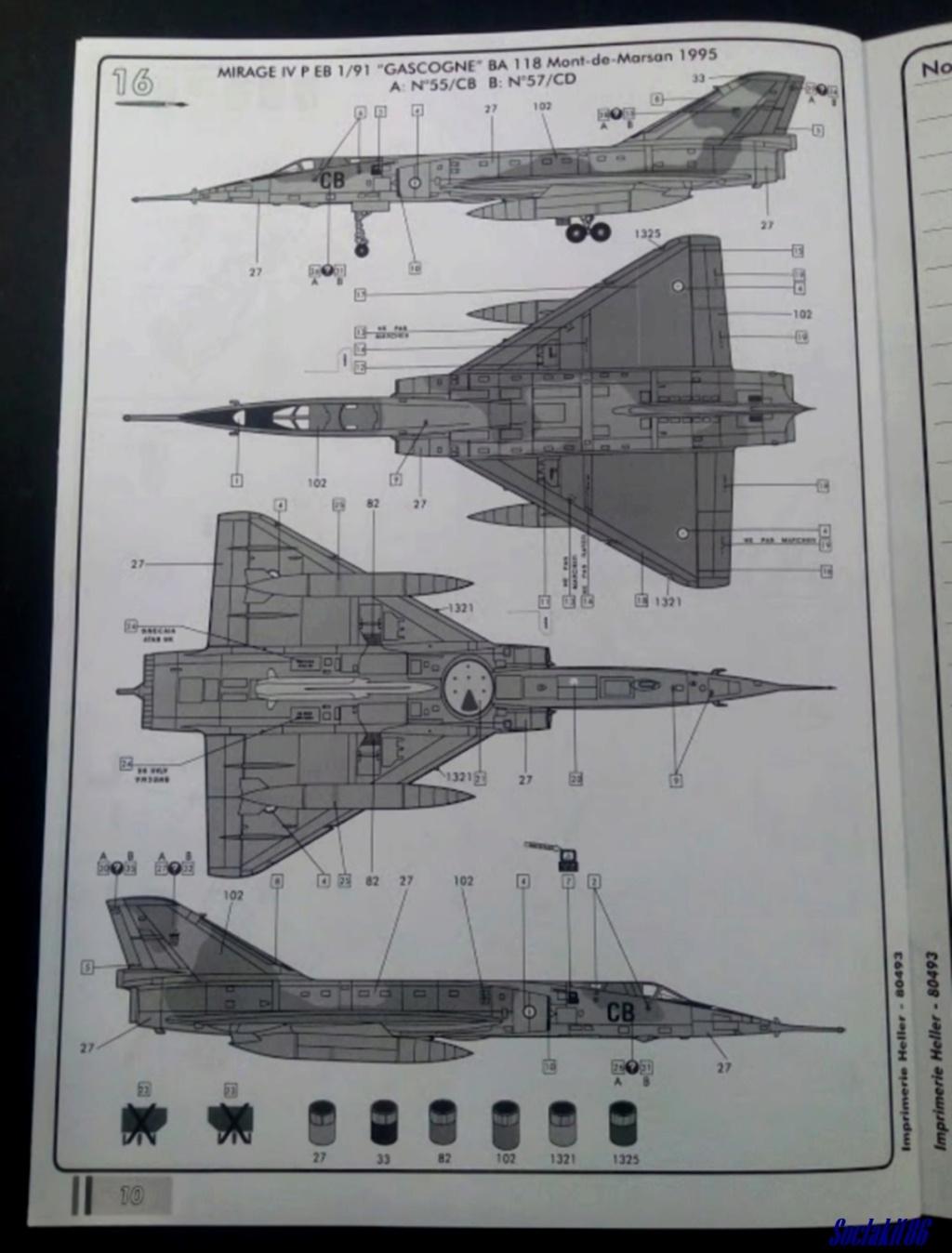 """Fil Rouge 2021 * Mirage IV A n°31/BD """"Opération Tobus """" (Heller 1/48)  1619"""