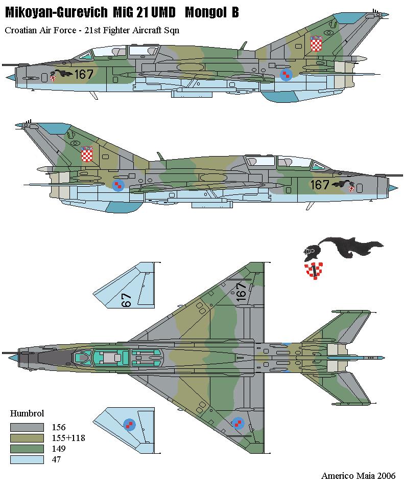 MiG-21 UM  Mongol B (Trumpeter 1/48)  183_1310