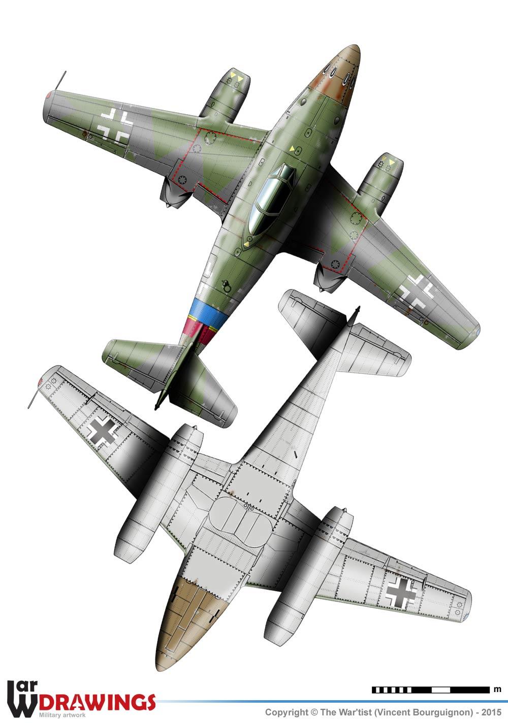 Messerscmitt Me 262A-1A 1/72 Revell page2 1a10