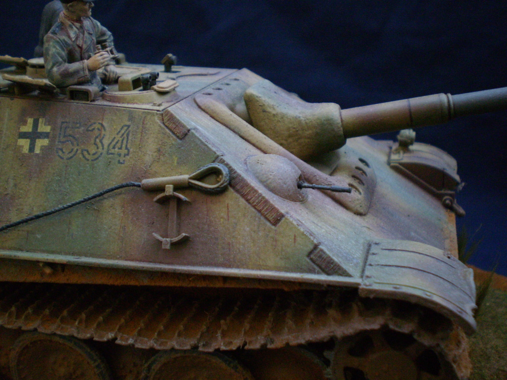 Jagdpanther ( Gunze Sangyo 1/35 ) 20100324