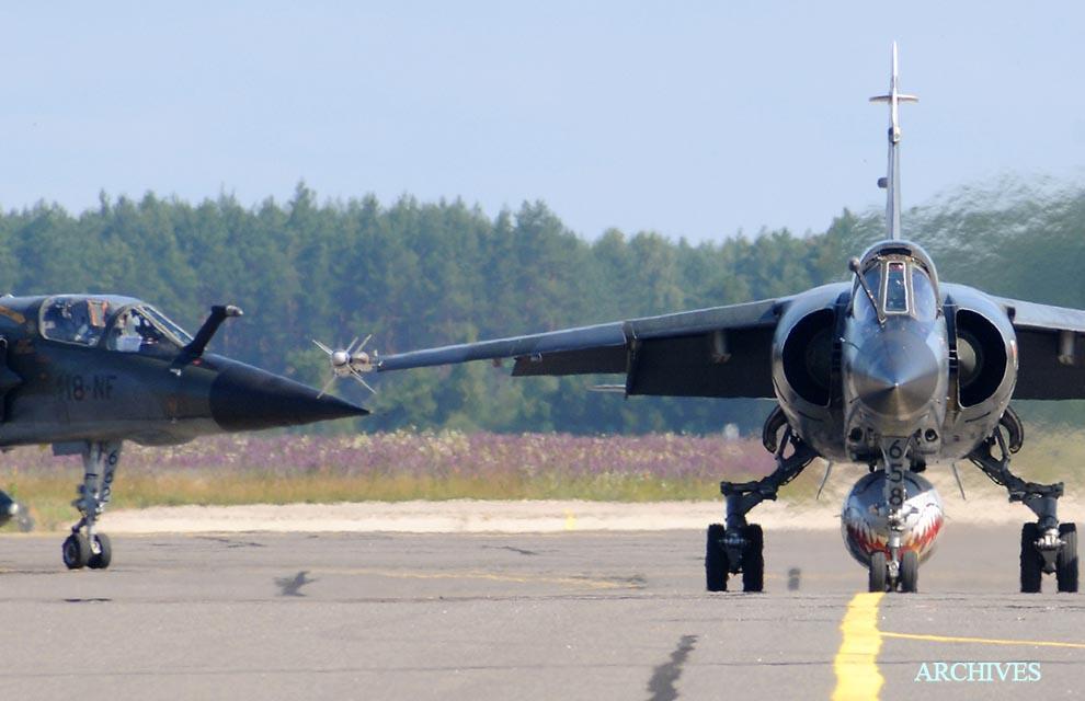 Mirage F-1 CR n°658 / 118-NQ (Kitty Hawk 1/48) opex Baltic Air Policing 2013 ... 2013_a10