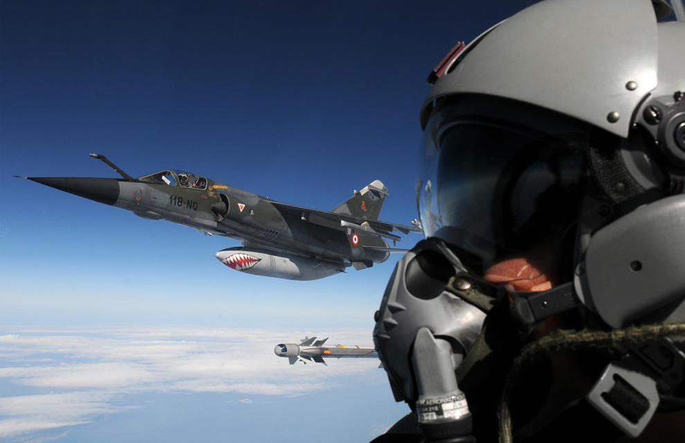 Mirage F-1 CR n°658 / 118-NQ (Kitty Hawk 1/48) opex Baltic Air Policing 2013 ... 2013ae12