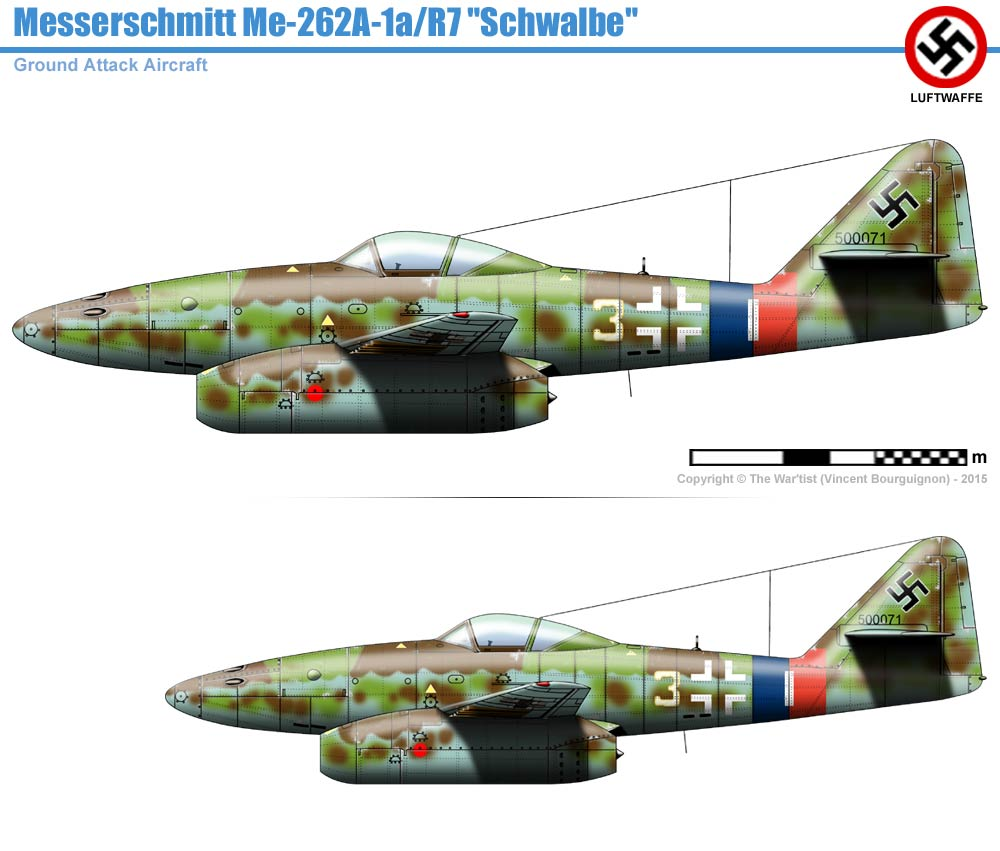 Messerscmitt Me 262A-1A 1/72 Revell page2 215