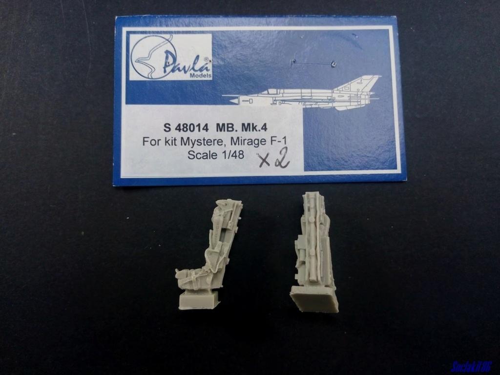 """Fil Rouge 2021 * Mirage IV A n°31/BD """"Opération Tobus """" (Heller 1/48)  2416"""