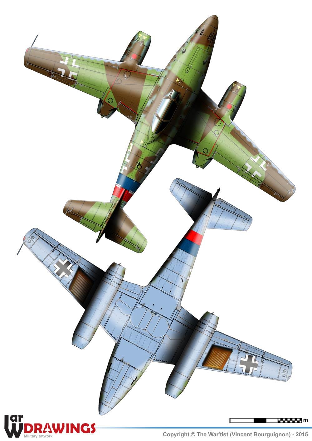 Messerscmitt Me 262A-1A 1/72 Revell page2 2a10