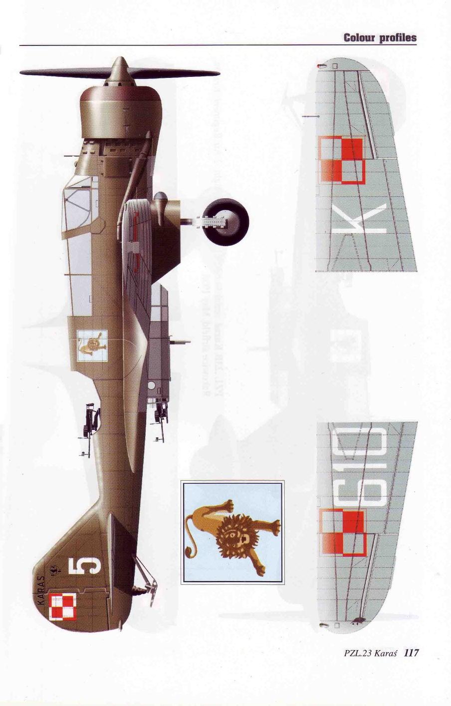 "Fil rouge 2020 , PZL P-23B Karas ""1939 Campaign"" (Mirage Hobby 1/48) 30-06510"