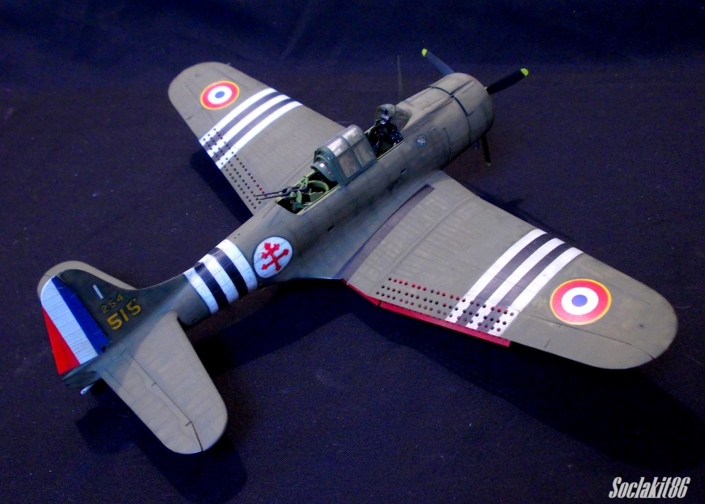 "Douglas SBD-1 Dauntless (Accurate Miniature 1/48) ""The US Marines Corps Golden Wings"" 3610"
