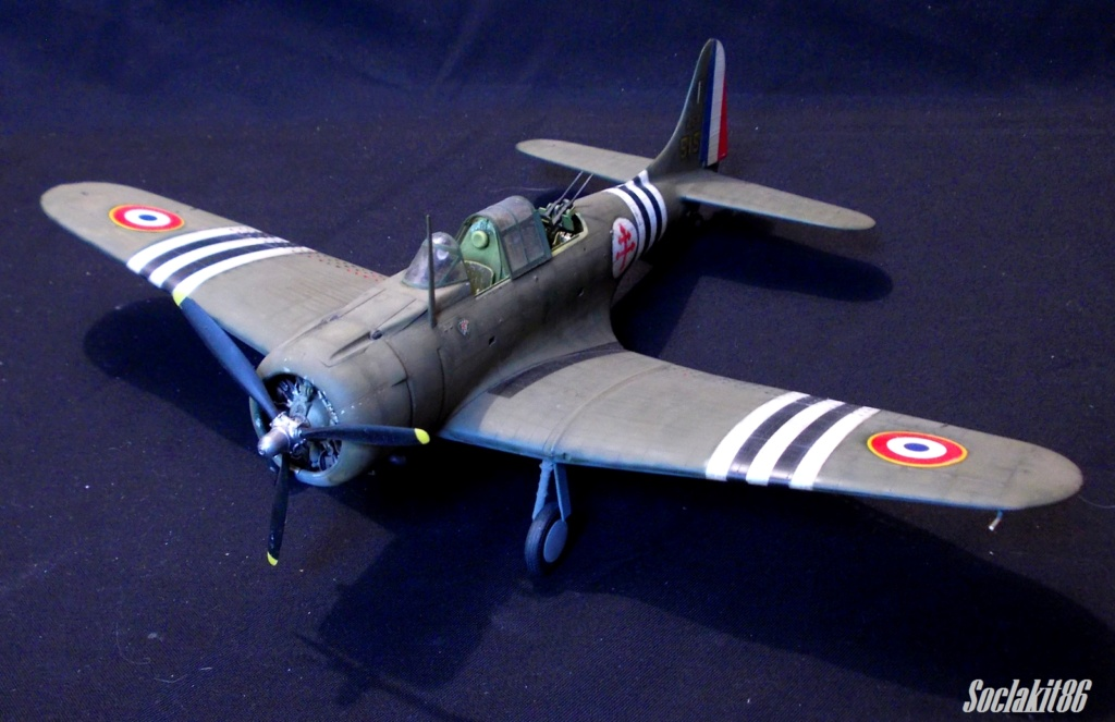 "Douglas SBD-1 Dauntless (Accurate Miniature 1/48) ""The US Marines Corps Golden Wings"" 3810"