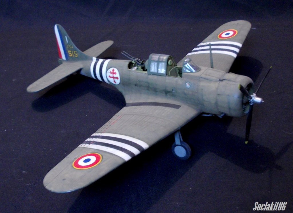 "Douglas SBD-1 Dauntless (Accurate Miniature 1/48) ""The US Marines Corps Golden Wings"" 3910"