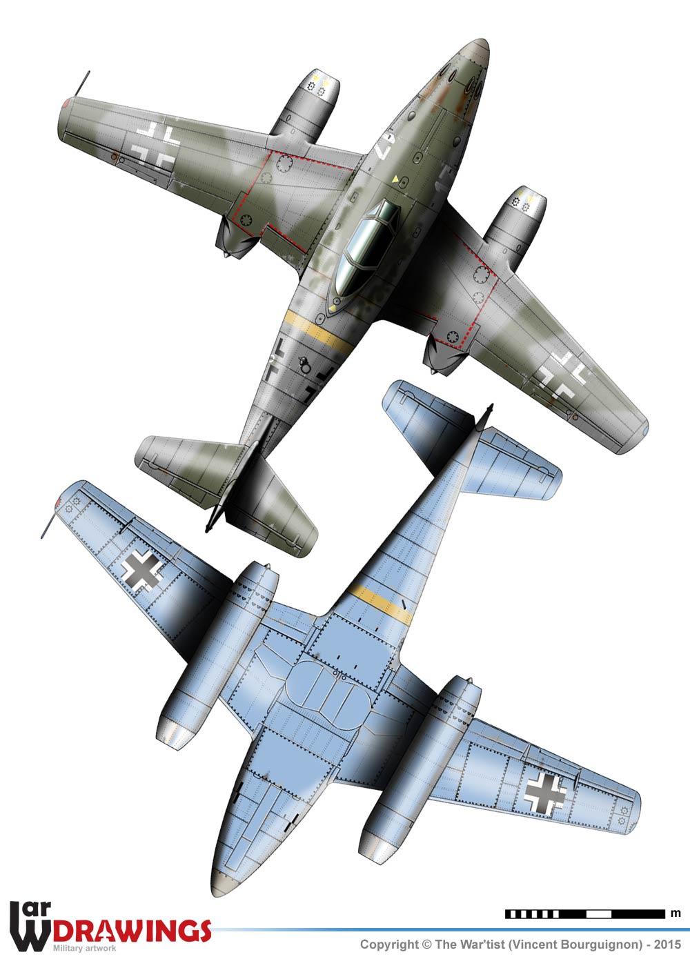 Messerscmitt Me 262A-1A 1/72 Revell page2 3a10