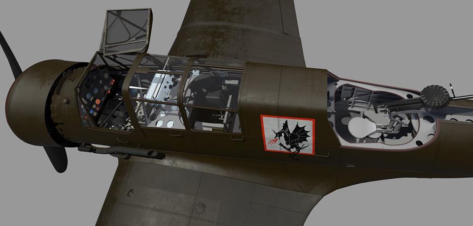 "Fil rouge 2020 , PZL P-23B Karas ""1939 Campaign"" (Mirage Hobby 1/48) 69413010"