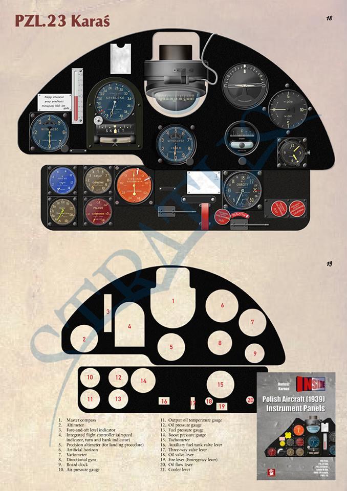 "Fil rouge 2020 , PZL P-23B Karas ""1939 Campaign"" (Mirage Hobby 1/48) 70465510"