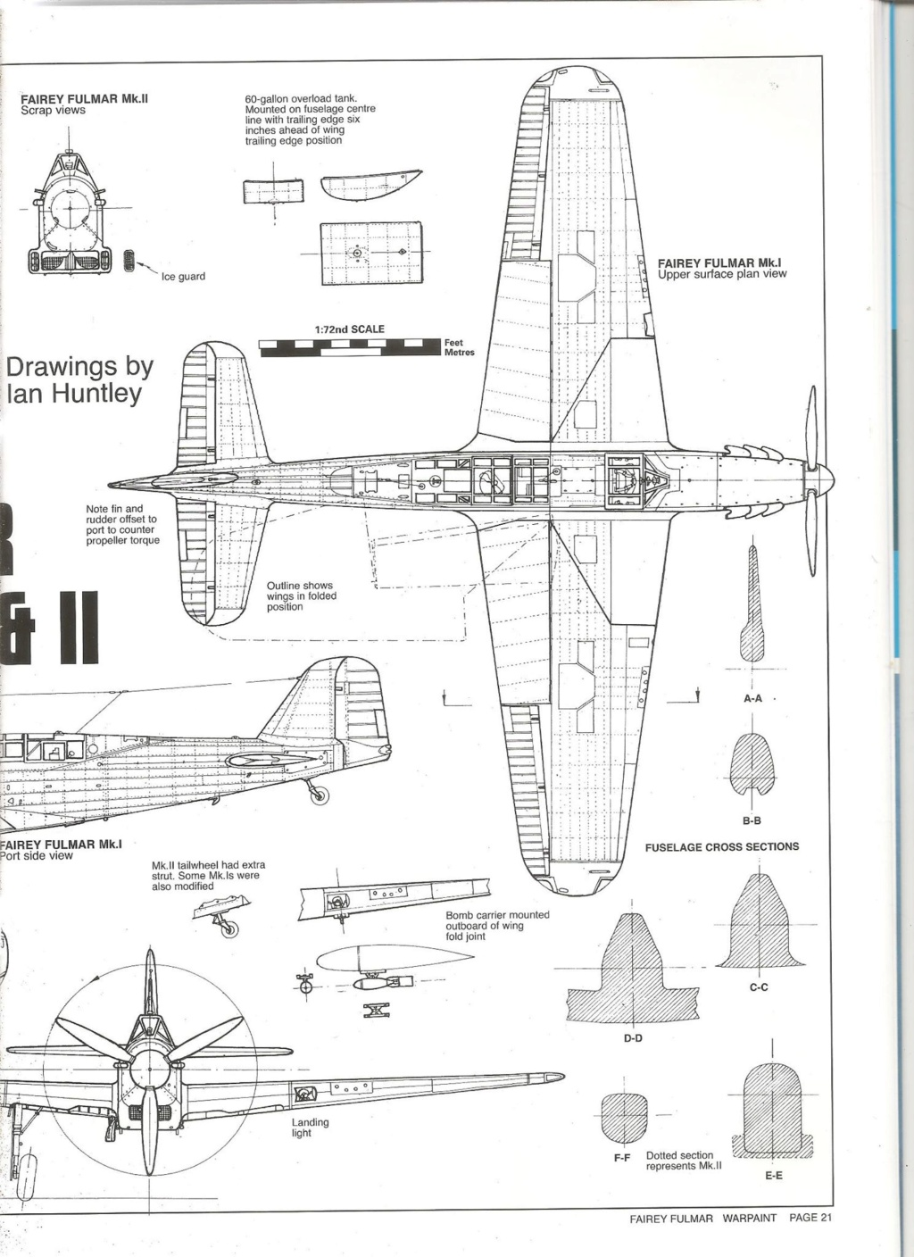 Fairey Fulmar Mark II (Eduard réf 1130 Limited Edition 1/48 ) 73010410