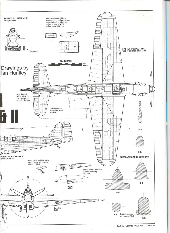Fairey Fulmar Mark II (Eduard réf 1130 Limited Edition 1/48 ) 73010410
