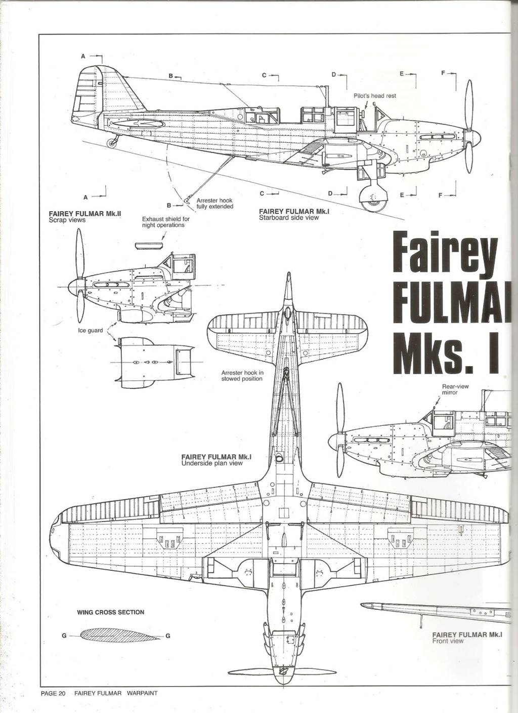 Fairey Fulmar Mark II (Eduard réf 1130 Limited Edition 1/48 ) 73361310