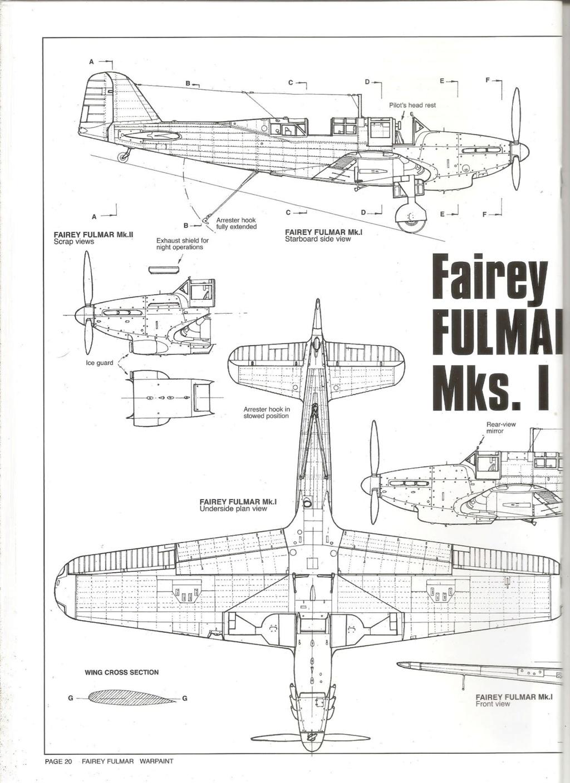 Fairey Fulmar Mark II (Eduard réf 1130 Limited Edition 1/48 ) 73361310