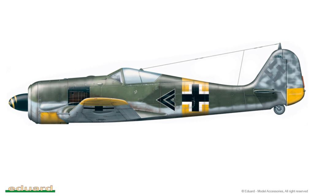 """FW 190 A-5 codé D5 + XV du 10/NJG-3 """"Nachtjagdkommando 190"""" (Eduard 1/48) 8174-a10"""