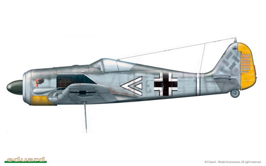"""FW 190 A-5 codé D5 + XV du 10/NJG-3 """"Nachtjagdkommando 190"""" (Eduard 1/48) 8174-b10"""
