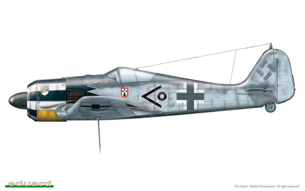 """FW 190 A-5 codé D5 + XV du 10/NJG-3 """"Nachtjagdkommando 190"""" (Eduard 1/48) 8174-d10"""