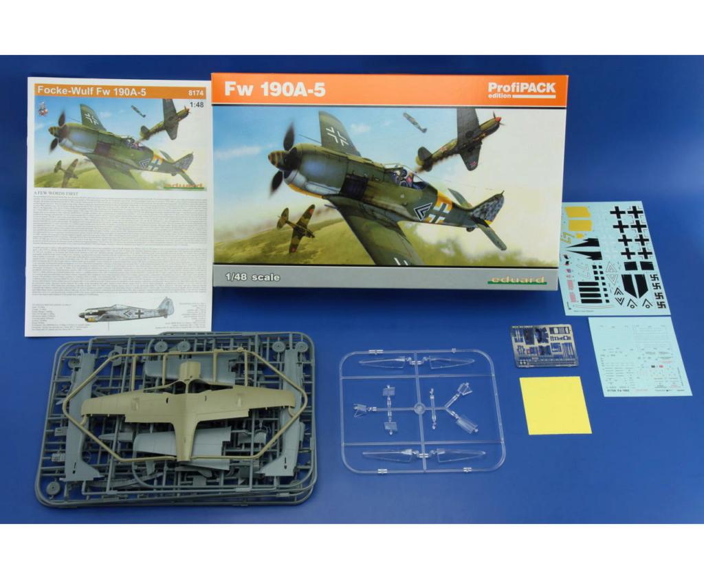 """FW 190 A-5 codé D5 + XV du 10/NJG-3 """"Nachtjagdkommando 190"""" (Eduard 1/48) 8174_011"""