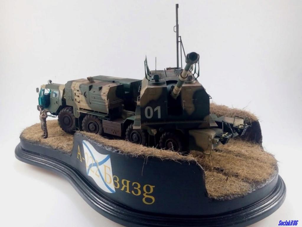 Canon automoteur de défense côtière de 130 mm A-222 Bereg ( 1/35 Trumpeter) - Page 4 8810