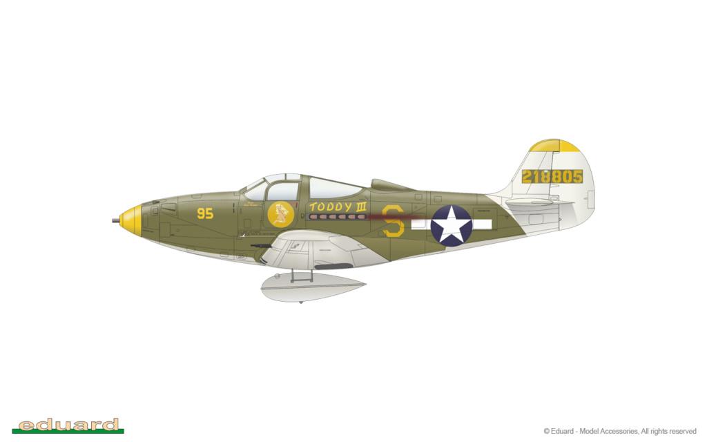 Bell P-400 aux couleurs Russes ( Eduard 1/48) A14