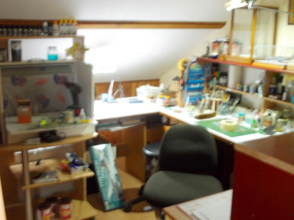 Mon nouvel atelier ( pas encore terminé ) A17